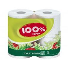 Туалетная бумага 100 % paper