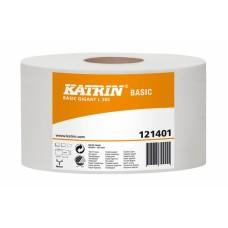 Туалетная бумага Katrin Basic Gigant L S 1сл(121401)